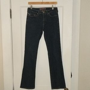 Parasuco jeans straight boot cut, size 31/32